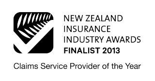 NZ Insurance Industry Awards - Finalist, 2013 - Claims Service Provider of the Year