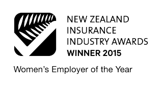 NZ Insurance Industry Awards Winner, 2015 - Woman's Employer of the Year